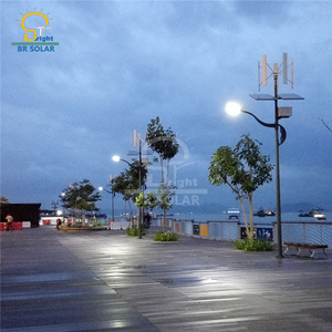 Wind Turbine Solar Street Lights