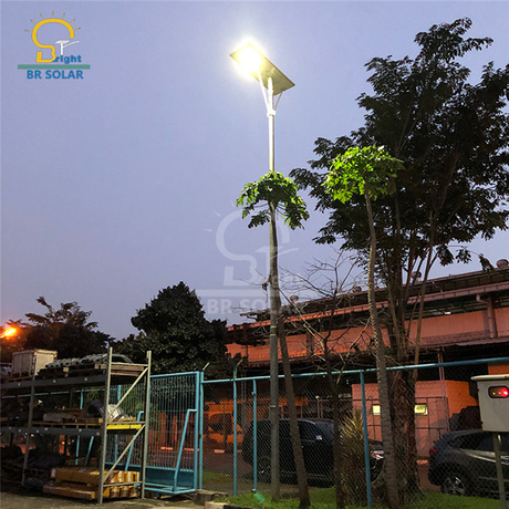 Popular 80W All In One Solar Power Street Lights
