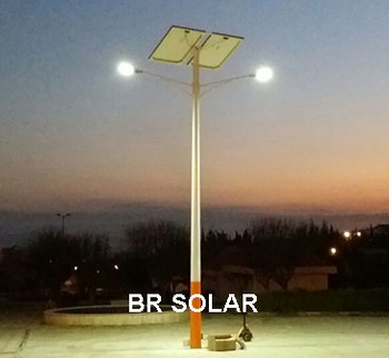Africa 300sets 60W LED Solar Street Lights in 21th June 2018